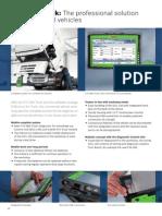 Bosch KTS 800 Truck Diagnostics Brochure EN