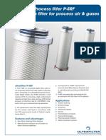 P-SRF Sterilfilter Dybefilter