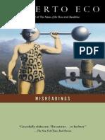 Eco, Umberto - Misreadings (Harcourt Brace, 1993)