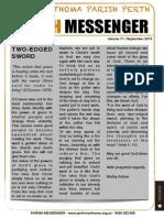 Edition 71 - News Letter September 2014