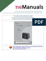 User Manual Blaupunkt Gtb 1200 Mystic Series e