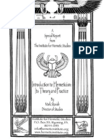 Introduction to Hermeticism - Its Theory and Practice (IHS - Mark Stavish).pdf
