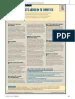 PV Les Proces-Verbaux de Chantier
