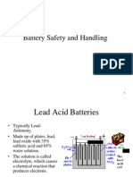 Battery Safety-Batterry Handling