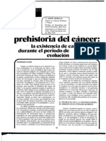 Prehistoria Del Cancer