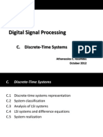 3 DSP - System Analysis in the Shift (Time) Domain
