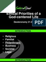 Philanthropic Ethics