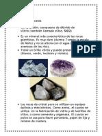 Cuarzo,Azufre,Galena,Calcita