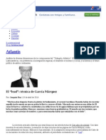 """El """"Lead""""_ Técnica de García Márquez __ Atlantis __ Blogs EL PAÍS"""