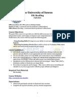 english fall 2014 reading syllabus