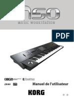 Korg M50 manuel en français