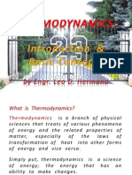 1.2 Introduction to Thermodynamics