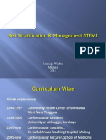 Dr Sasmoyo Risk Stratification & Management of STEMI