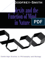 (Cambridge Studies in Philosophy and Biology) Peter Godfrey-Smith-Complexity and the Function of Mind in Nature-Cambridge University Press (1996)(1)