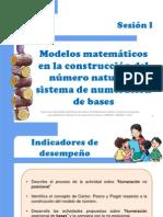 Modelos Matemáticos de Numeración Sesión 1