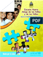 Escuela Nueva (UNICEF)