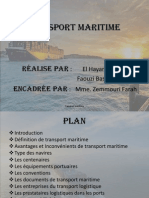 Transport Maritime 2014 Modifier