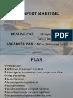 Transport Maritime 2014 Modifier