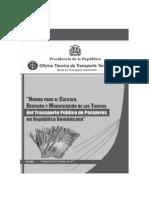 Manual Tarifa