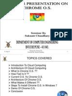 chromchrome OS ppt