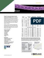 Technical Literature Plasma 12 Strand Tech Sheet