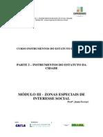 Modulo III Zonas Especiais de Interesse Social