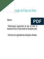 DeterminacaoFatorAtrito