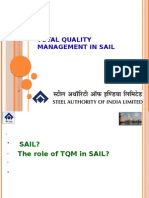 Total Quality Management in Sail