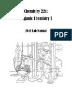 Organic Chemistry lab manual, Chem221_Fall2012_LabManual
