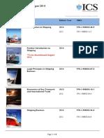 Books Catalogue August 2014