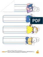 Max & Ruby Bookmarks