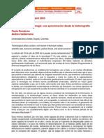 Ronderos Valderrama (2003) - El Futuro de La Tecnología - Una Aproximación Desde La Historiografía