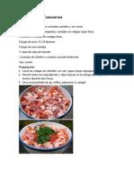recetas ecuatorianas