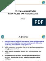 2.3 Konsep Penilaian Autentik Pada Proses Dan Hasil Rev