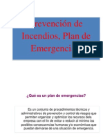 Plan de Emergencias Cctv