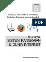 sistem rangkaian dan dunia internet