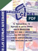 Catalogo Ediciones Cedel