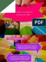 Falsafah Pendidikan Matematik