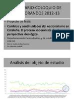 Presentación Seminario Coloquio de Doctorandos 2012 13a