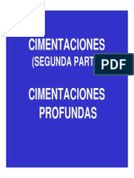 INFU-CIMENTACIONES PROFUNDAS