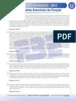 ENEM Em Fascículos - Fascículo 1 - Ciências Humanas - Comentários Dos Exercícios de Fixação