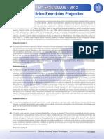 ENEM Em Fascículos - Fascículo 1 - Ciências Humanas - Comentários Dos Exercícios Propostos