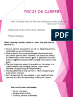 YOUR FOCUS ON CAREERS.pptx