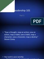 Leadership 101part6