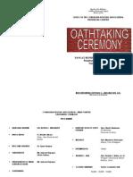 Oathtaking Cordillera Bodong Association