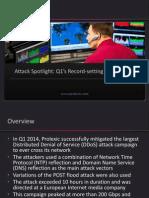 Knowledge Center Ddos Attack Report 2014 q1 Spotlight Presentation