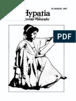 Hypatia v.2 n.2