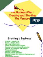 Business Plan Session-I