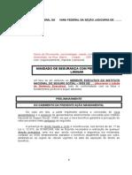 Modelo de Peticao Inicial Mandado de Seguranca Com Pedido de Medida Liminar