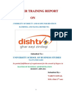 A Project report on DishTv